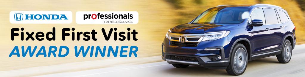 Denny Menholt Honda >> Honda Professionals - Fixed First Visit Award Winners